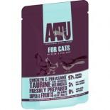 AATU 97/3/0 ATWCQ85 全配方貓濕糧包 雞+野雞 85g x 16包原箱優惠