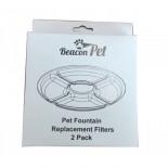 Beacon Pet 花朵噴泉 寵物飲水機 Filter 2pcs