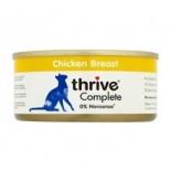 THRIVE 整全膳食100% 雞肉貓罐頭 75G x 12罐原箱優惠