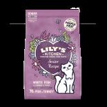 Lily's Kitchen [CDMM84] 無穀物鮮魚 老貓專用餐 貓乾糧 800g