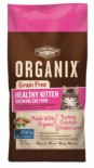 ORGANIX 有機貓糧 - 無穀物幼貓配方 4磅