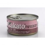 Kakato - 雞+三文魚+蔬菜 170G