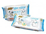 Golden Bonta 金毛迪 - 蘆薈配方寵物用濕紙巾 70片裝