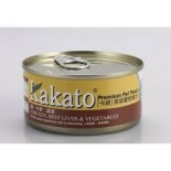 Kakato - 雞+牛肝+蔬菜 170G