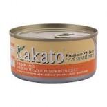 Kakato - 沙甸魚頭+南瓜 170G