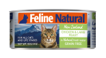 F9 FELINE NATURAL 雞肉及羊肉 主食貓罐頭 170G X 24罐優惠
