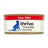 THRIVE 整全膳食100% 吞拿魚貓罐頭 75G x 12罐原箱優惠