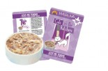Weruva Cats in the Kitchen 袋裝系列 Love Me Tender 走地雞+鴨肉 美味肉汁 85g x 8包優惠