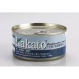 Kakato - 雞+吞拿魚+蔬菜 170G
