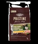 PRISTINE ™ 無穀物全貓糧 – 放養雞,火雞配方 10lb