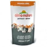 almo nature 貓乾糧 - Orange Label 橙色標籤 Sardine 沙甸魚 750g x 5包優惠