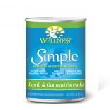 Wellness SIMPLE 防敏羊肉燕麥配方 狗罐頭 12.5oz