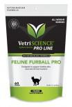 美國 Vetri - FELINE FURBALL PRO 雞肉味 吐毛球 貓小食 60粒裝