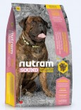 Nutram (S8) 雞肉、糙米及胡蘿蔔配方 大型成犬糧 13.6kg